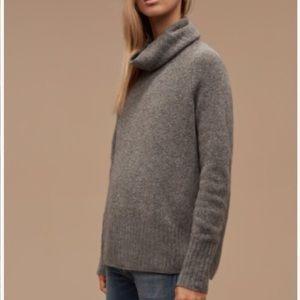 Aritzia Community Plutarch Sweater in Heather Grey